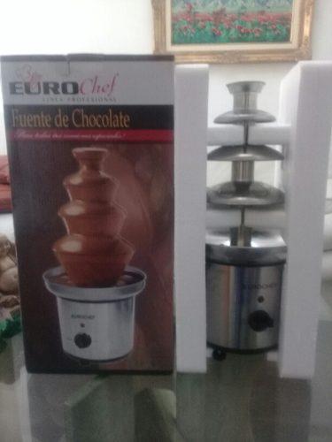 Fuente De Chocolate Eurochef De 4 Pisos