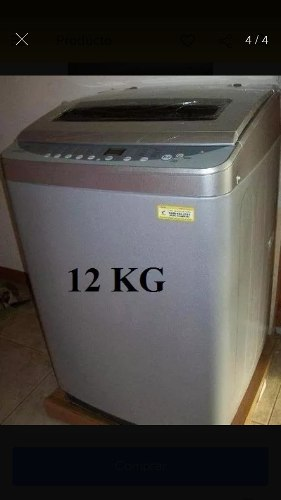 Lavadora 12 Kilos Nueva