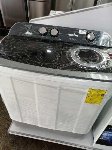 Lavadora Semi Automática Doble Tina Mabe