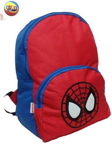 Morral Bolso Escolar Spiderman, Hombre Araña