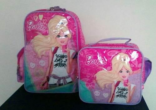 Morral Lonchera Térmica Barbie. 100%original Capi.