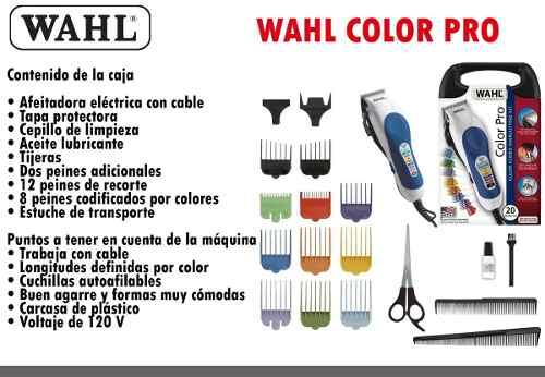 Máquina De Cortar Cabello Wahl Color Pro Original Sellada