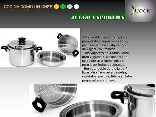 Olla Vaporera 1 Galon Icook (americana)