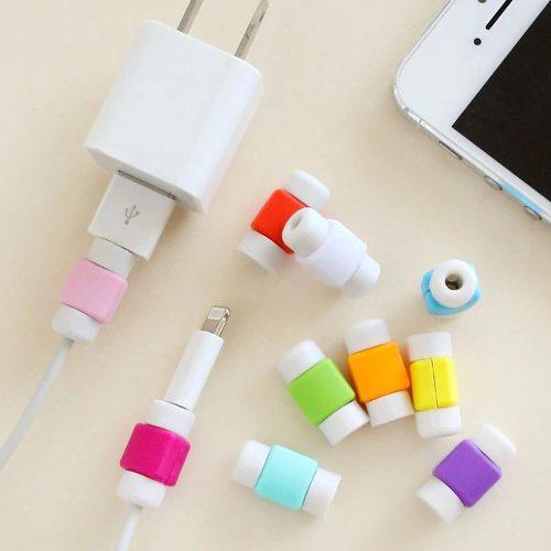 Protectores Para Cable Usb Para iPhone (2 Unidades)
