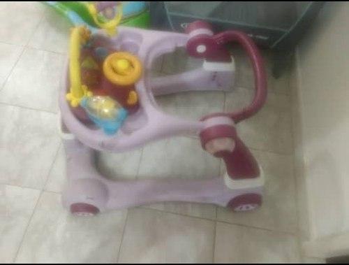 Andadera Para Bebe Multifuncional 3 En 1 Master Kids