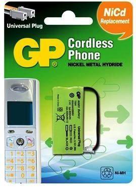 Bateria Para Telefono Inalambrico T504 2.4v 600mah 2 Cables