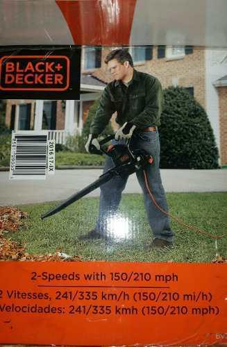 Black + Decker 3-in-1 (sopladora, Aspiradora Y Trituradora)