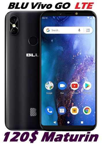 Blu Vivo Go Huella Dual Sim 4g Lte 8mp Android Pie 9 Tienda