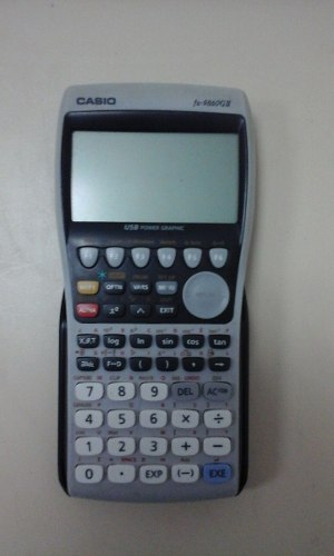 Calculador Casio Fx g Usada Perfecto Estado