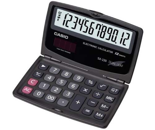 Calculadora Casio Bolsillo 12 Dígitos Original