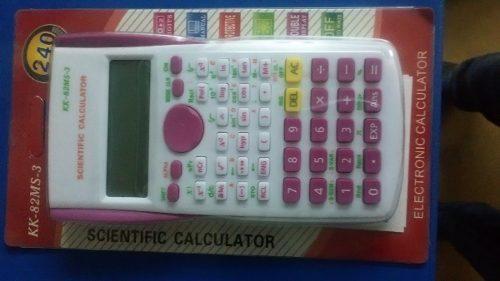 Calculadoras De Cientificas Y De Mesa