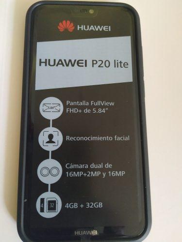 Espectacular Telefono Huawei P20 Lite Totalmente Nuevo