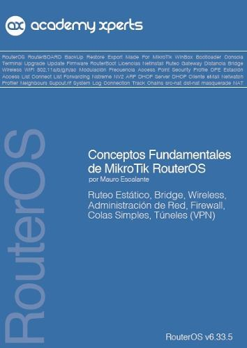 Libros Mikrotik Academy Xperts