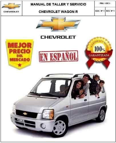 Chevrolet suzuki    wagon       r    manual taller   Posot Class
