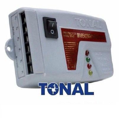 Protector Electrico Con Bornera 220v Aire Acond Tv Tr-2