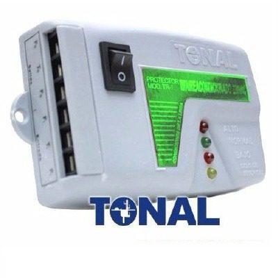Protector Electrico Voltaje Bornera 110v, Aire Tv, Tr-1