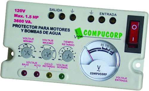 Protector Voltaje A/a-refrig.bombas Bornera 120v Compucorp