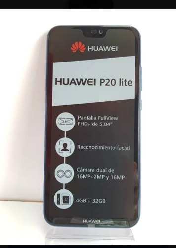 Telefono Huawei P20 Lite 32gb+4gb Ram Dual Sim Nuevo