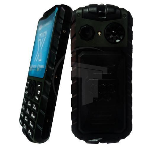 Teléfono Celular Dual Sim Smooth Snap Mini X Color Verde