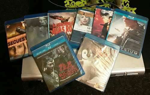 Combo De 8 Peliculas De Blu-ray