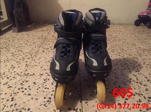Patines Lineales Chicago Azules