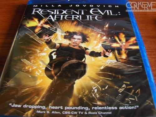 Resident Evil Afterlife (Blu-ray) Original Nuevo Y Sellado