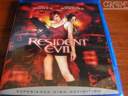 Resident Evil [Blu-ray] Original Nuevo Y Sellado