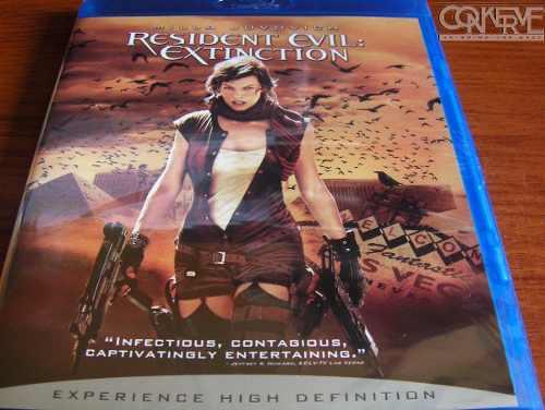 Resident Evil Extinción [Bluray] Original Nuevo Y Sellado