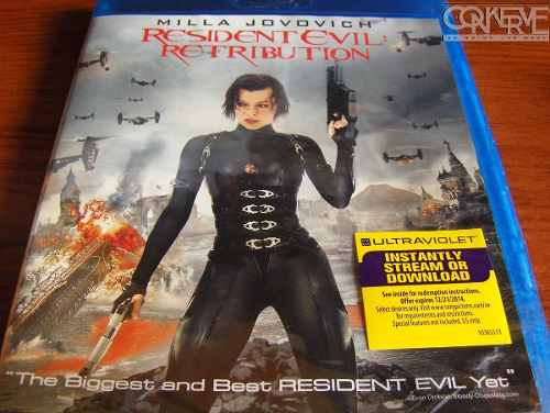 Resident Evil Retribution [Blu-ray] Original Nuevo Sellado