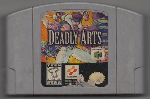 Deadly Arts. Video Juego Original Usado.
