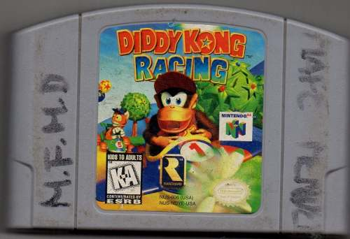 Diddy Kong Racing. Video Juego Original Usado