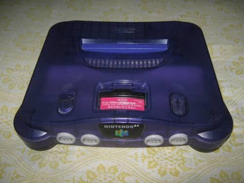 Funtastic Grape Purple Nintendo 64 - N64 (vendo O Cambio)
