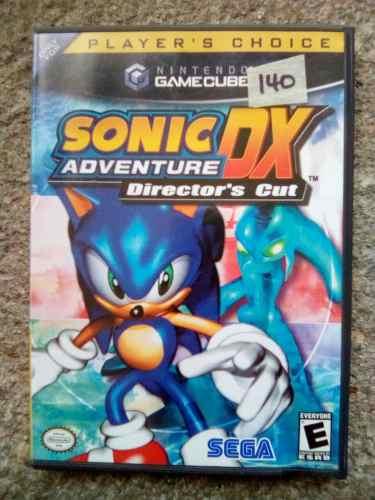 Juego Para Gamecube Sonic Adventure Dx Director's Cut