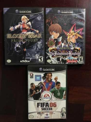 Juegos De Gamecube Bloody Roar / Yu Gi Oh / Fifa 06