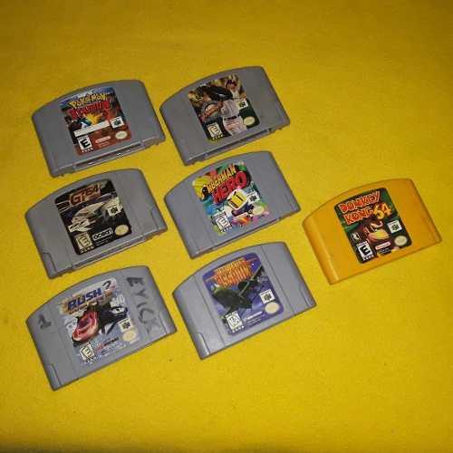 Juegos De Nintendo 64 Originales Perfectos