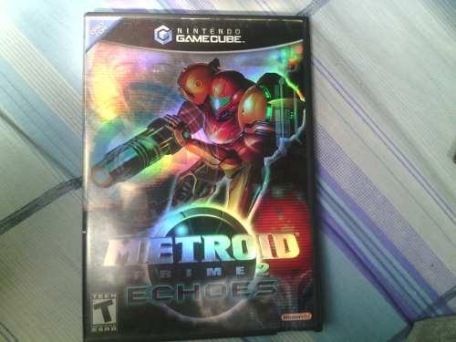 Metroid Prime 2 Echoes, Nintendo Gamecube, Original
