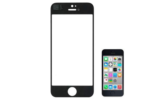 Mica Vidrio Apple iPhone 5c Negra Original Nuevo Bagc