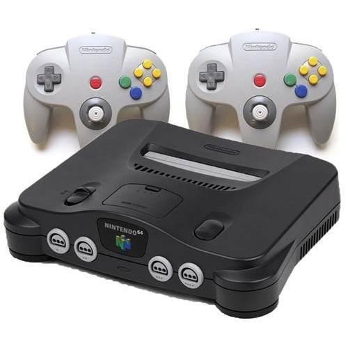 Nintendo 64 Con 2 Controles Y 4 Juegos Nuevo Sin Caja