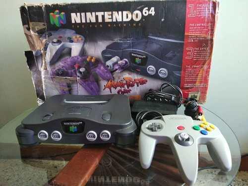 Nintendo 64 Con Caja