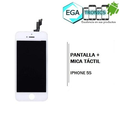 Pantalla + Mica Tactil Apple iPhone 5s Tienda Fisica Nuevas