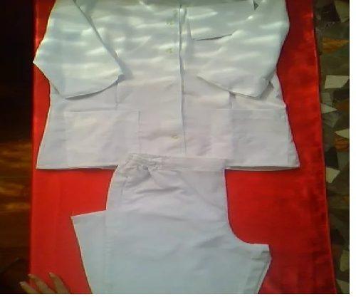 Uniformes De Enfermera Blancos De Pantalón,