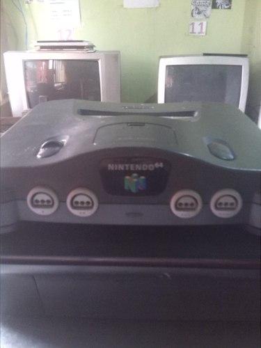 Vendo Nintendo 64 Con Un Control Y 9 Juegos Y Sus Cables