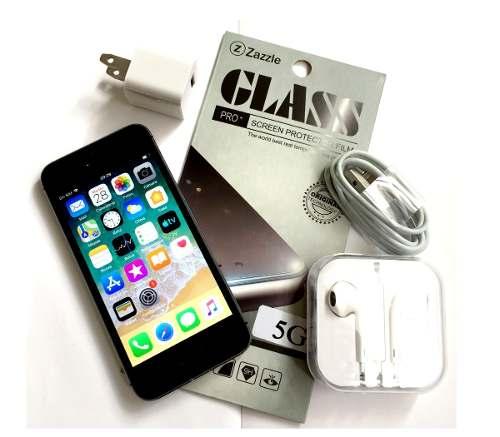 iPhone 5s 16gb (g Vidrio Auricular Cargador Garantía