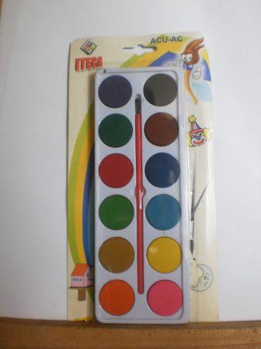 Acuarelas Iteca 12 Colores