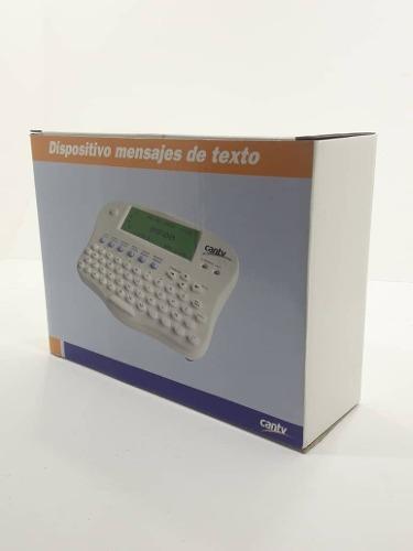 Dispositivo De Msj De Texto E Identificador De Llamadas