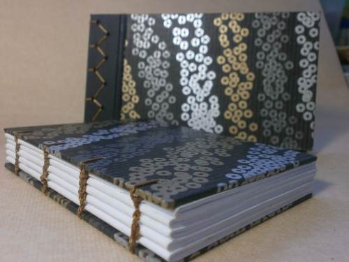 Sketchbook De Bocetos Artesanal Encuadernado Japonés Y