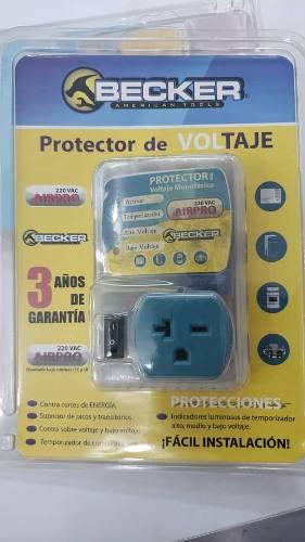 Protector De Voltaje Corriente 110v Y 220v