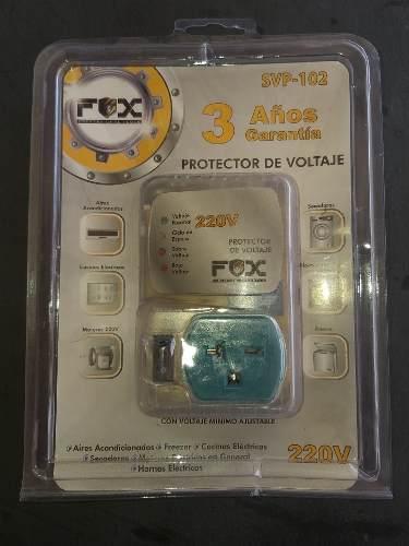 Protector De Voltaje Fox Lightin Series 220v