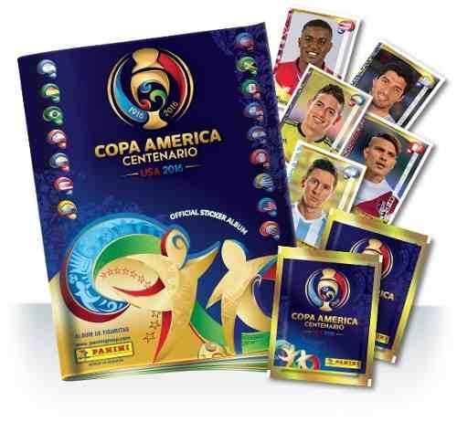 5 Barajitas Del Álbum Panini De La Copa América Centenario