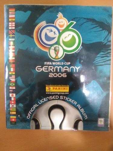 Album Panini Alemania . Perfectas Condiciones, Con Forro
